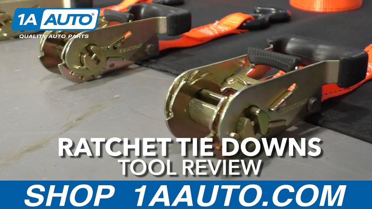 Ratchet Tie Downs - Available at 1AAuto.com