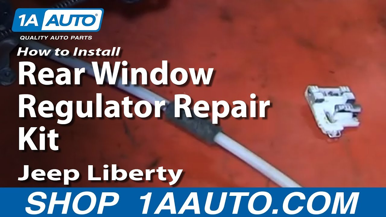 how to replace window regulator 02 07 jeep liberty 1a auto2006 Jeep Liberty Window Diagram #11