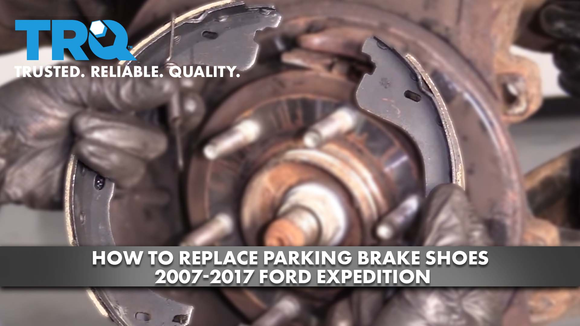 How to Replace Parking Brake Shoes 2007-17 Ford Expedition