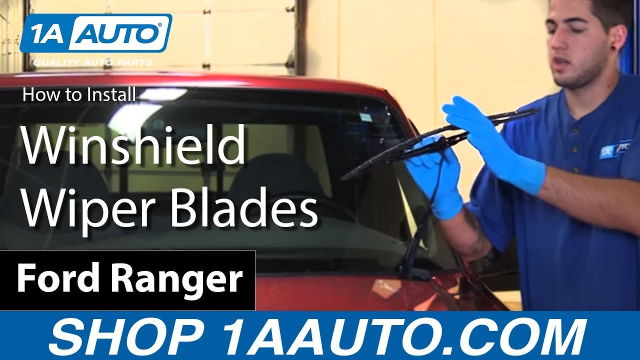 How to Replace Windshield Wiper Blades 83-12 Ford Ranger