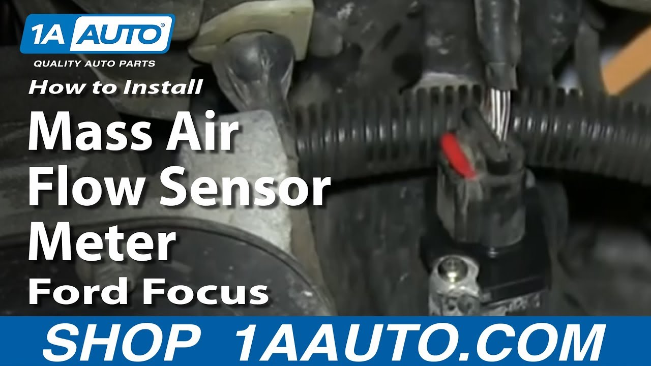 How to Replace Air Flow Meter Sensor 03-11 Ford Focus