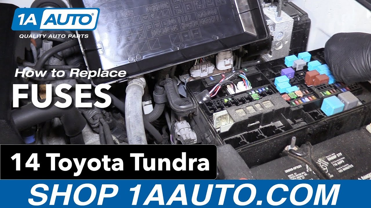 How To Replace Fuses 14