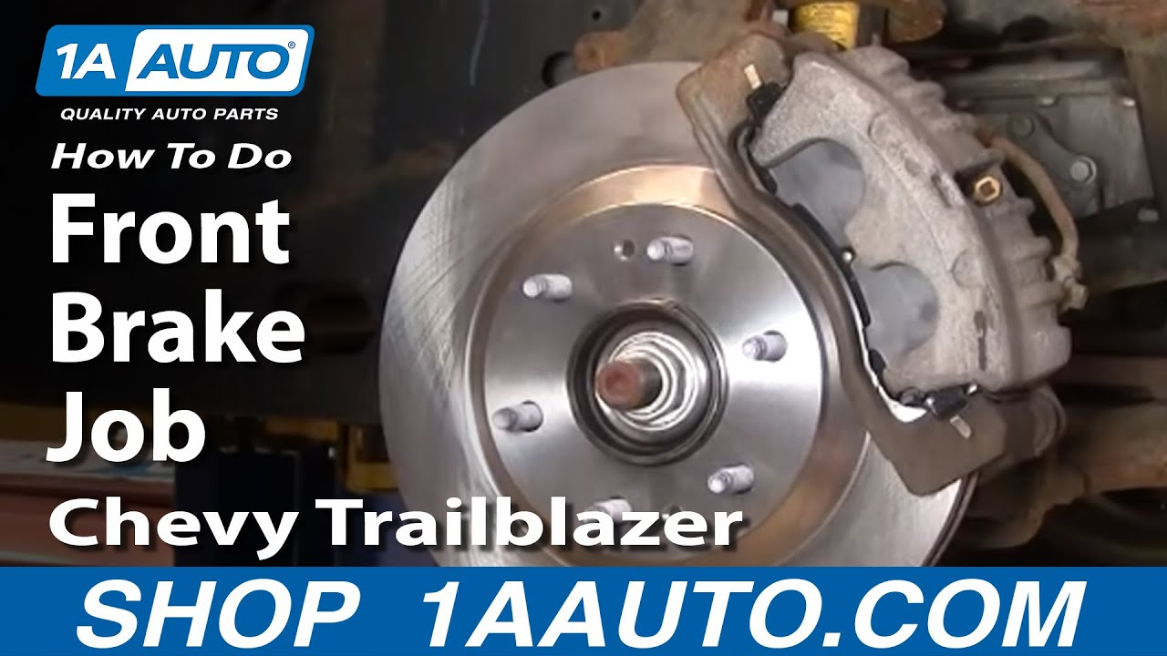 How to Replace Front Brakes 02-05 Chevy Trailblazer