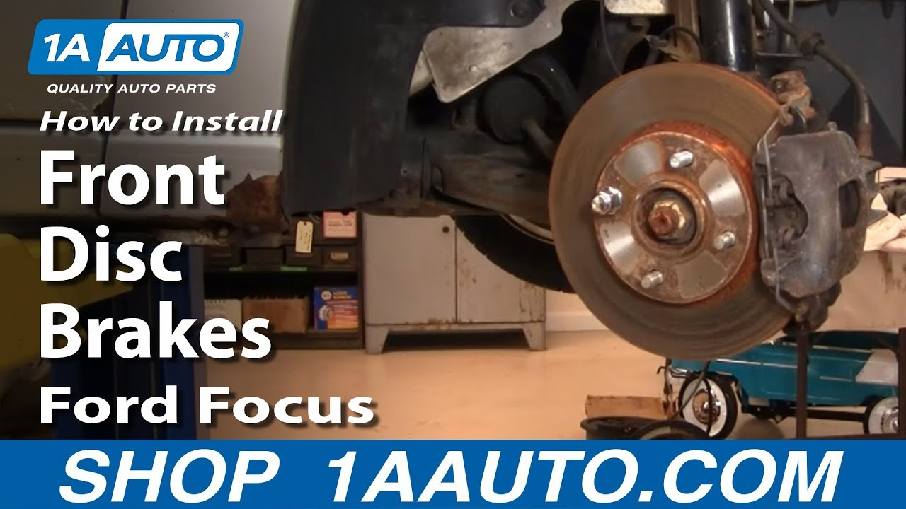 How To Replace Front Brakes 00-04 Ford Focus