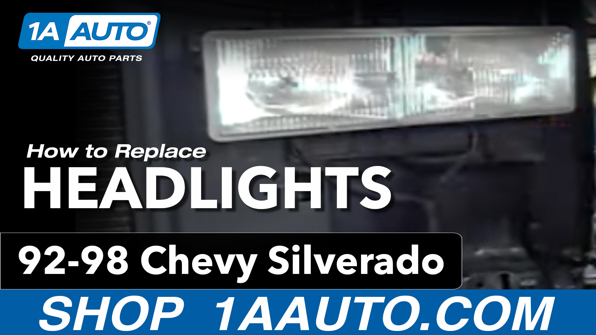 How To Replace Headlights 92-99 Chevy Suburban