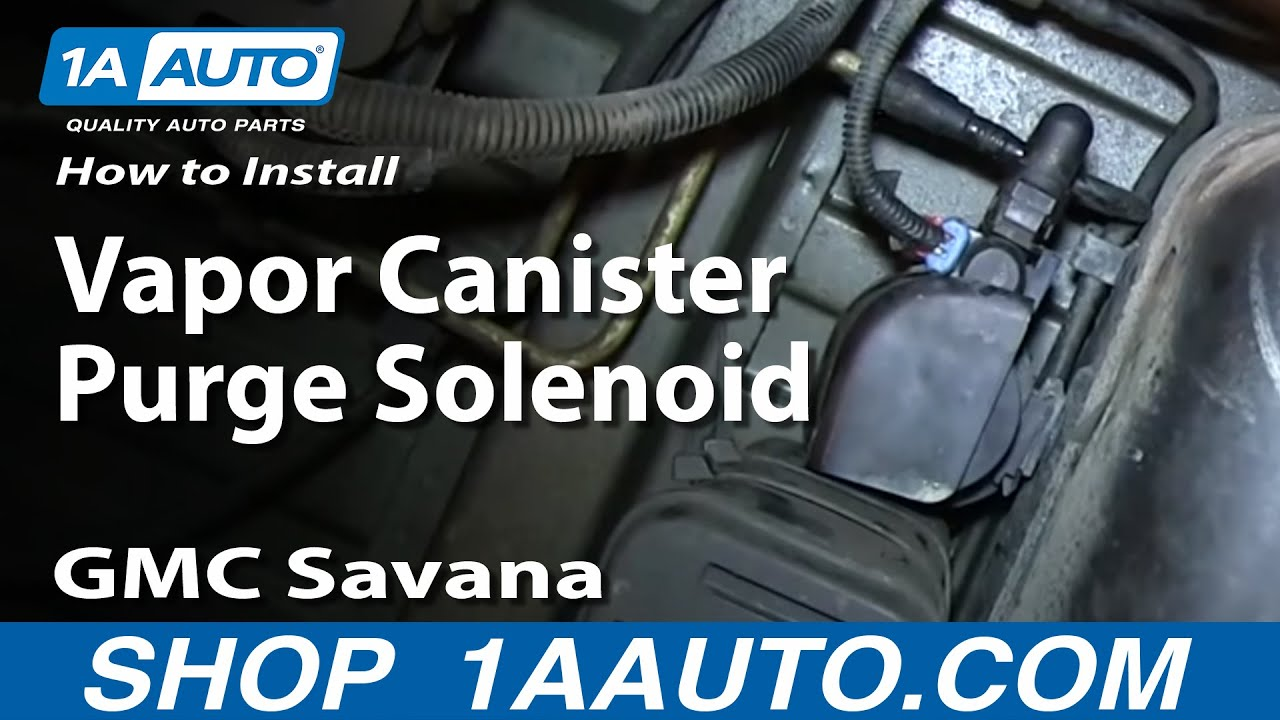 How To Replace Vapor Canister Purge Solenoid 03-10 GMC ...