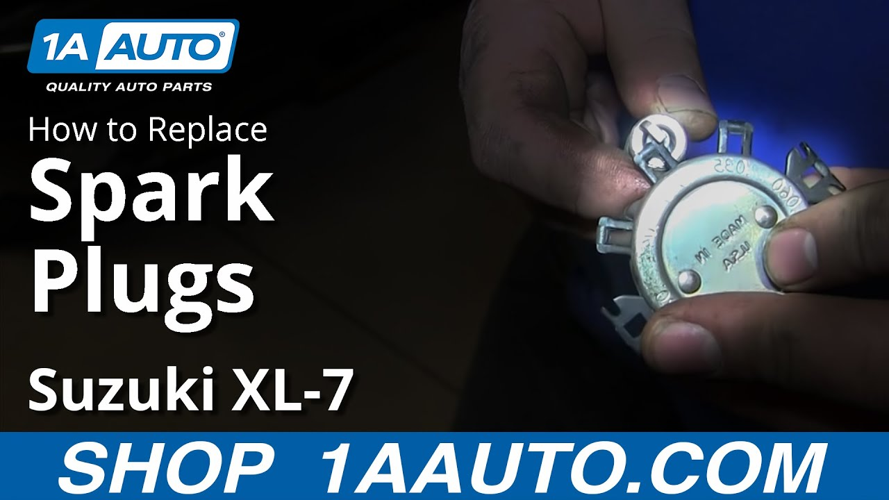 How To Replace Spark Plugs 98-06 Suzuki XL-7 2.7L V6