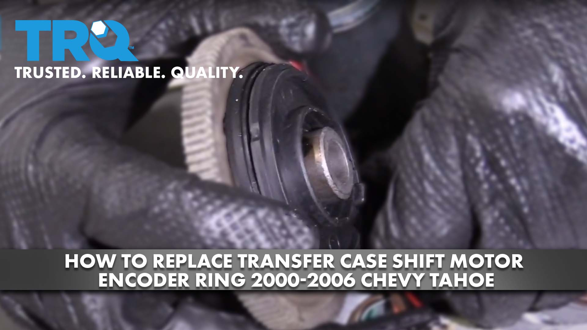 How To Replace Transfer Case Shift Motor Encoder Ring 2000-06 Chevy Tahoe
