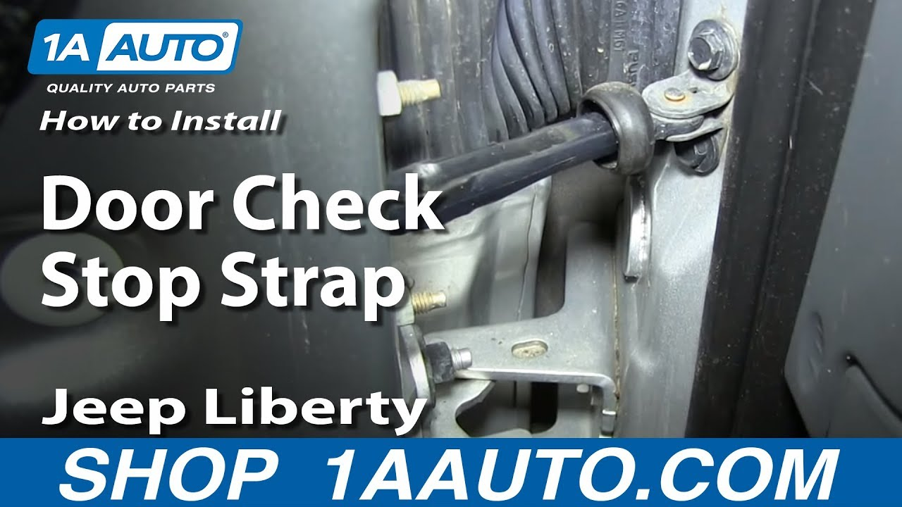 How To Replace Door Check 02-06 Jeep Liberty