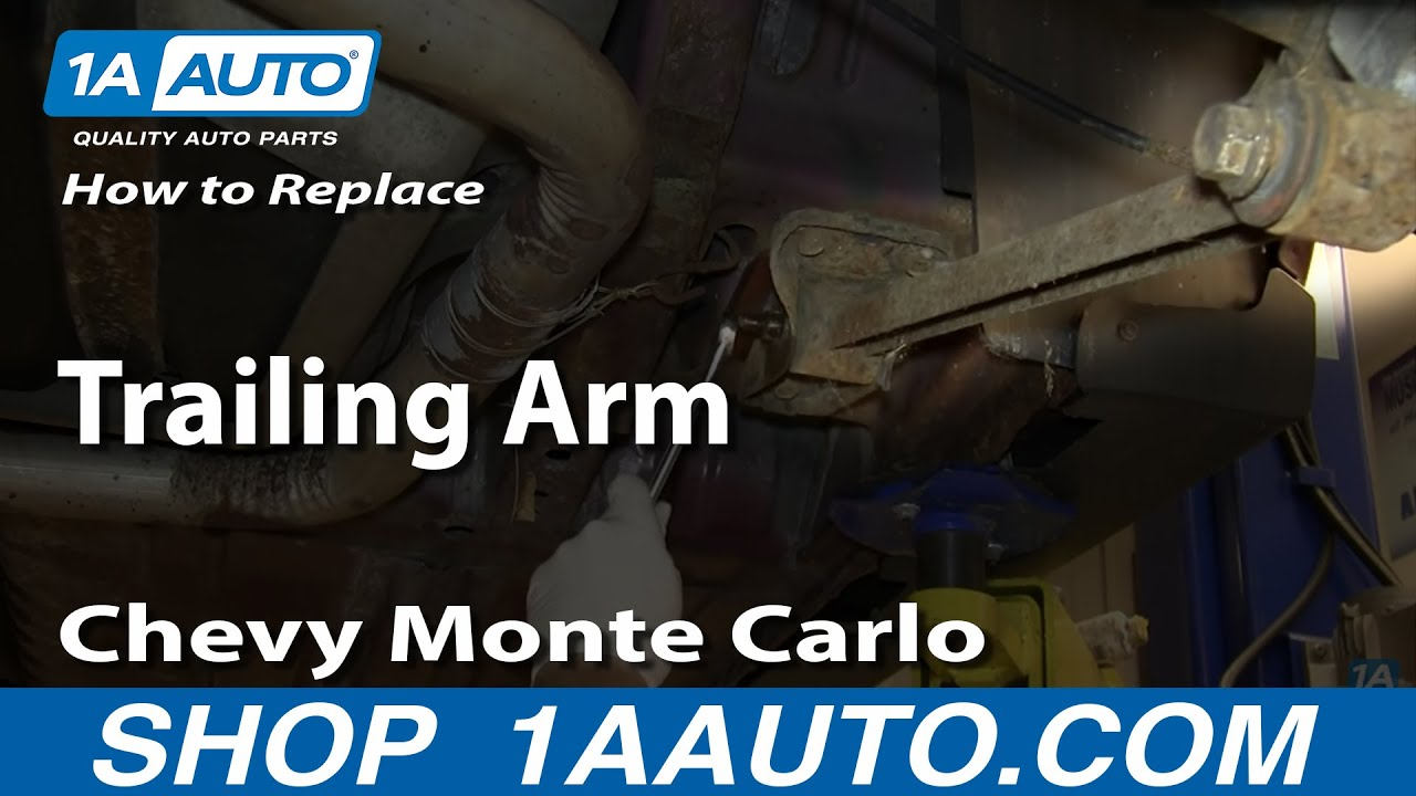 How to Replace Trailing Arm 95-07 Chevy Monte Carlo