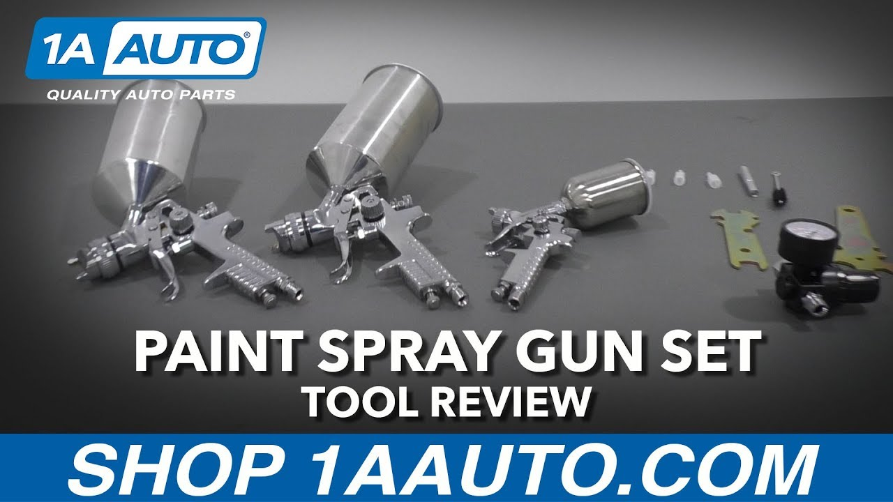 Paint Spray Gun Set - Available at 1AAuto.com