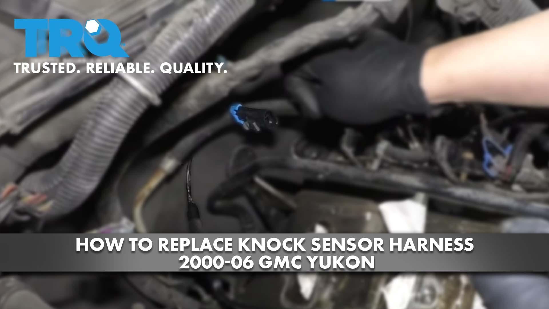 How to Replace Knock Sensor Harness 2000-06 GMC Yukon