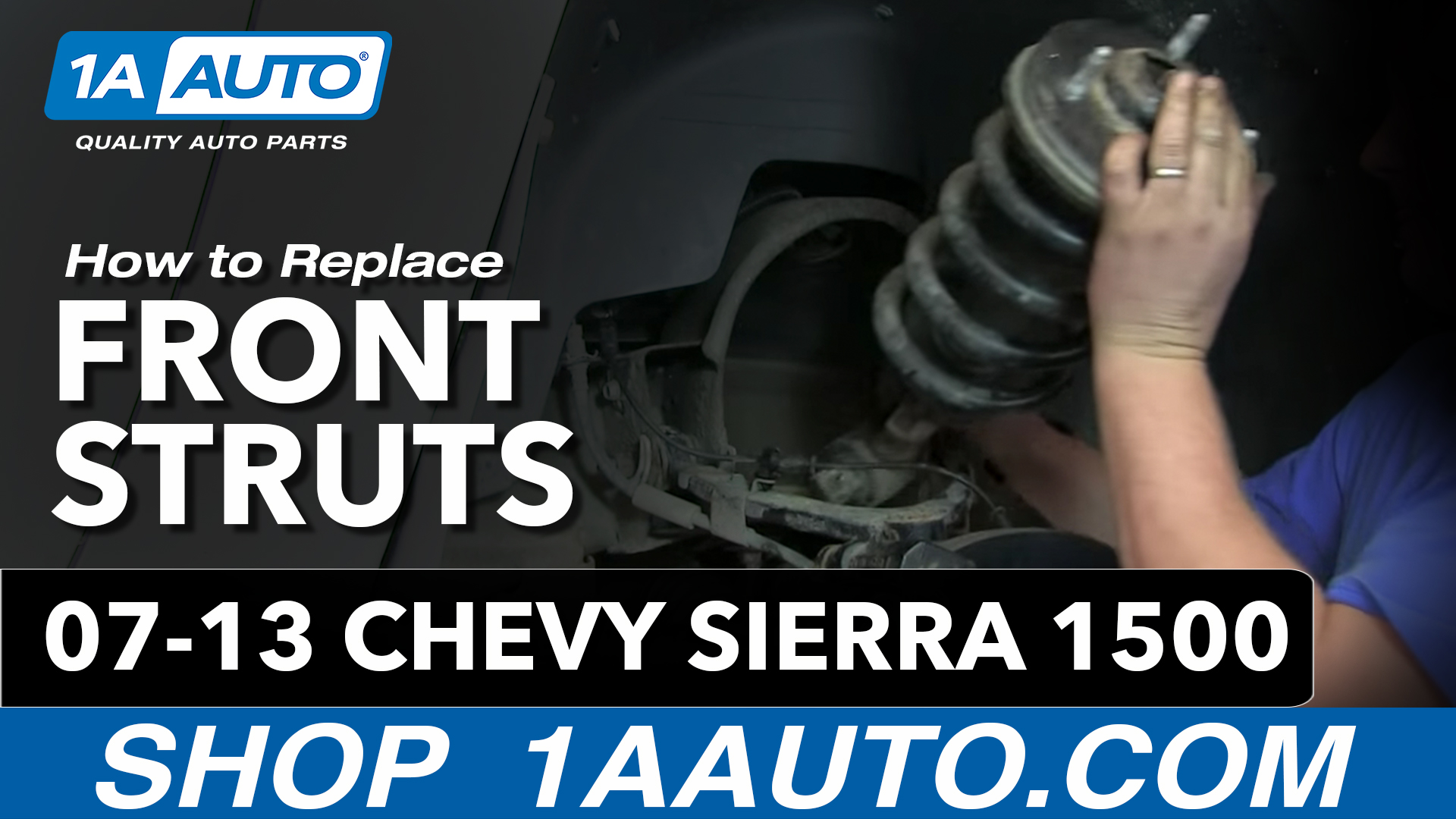 How To Replace Front Struts 07-13 Chevy Silverado