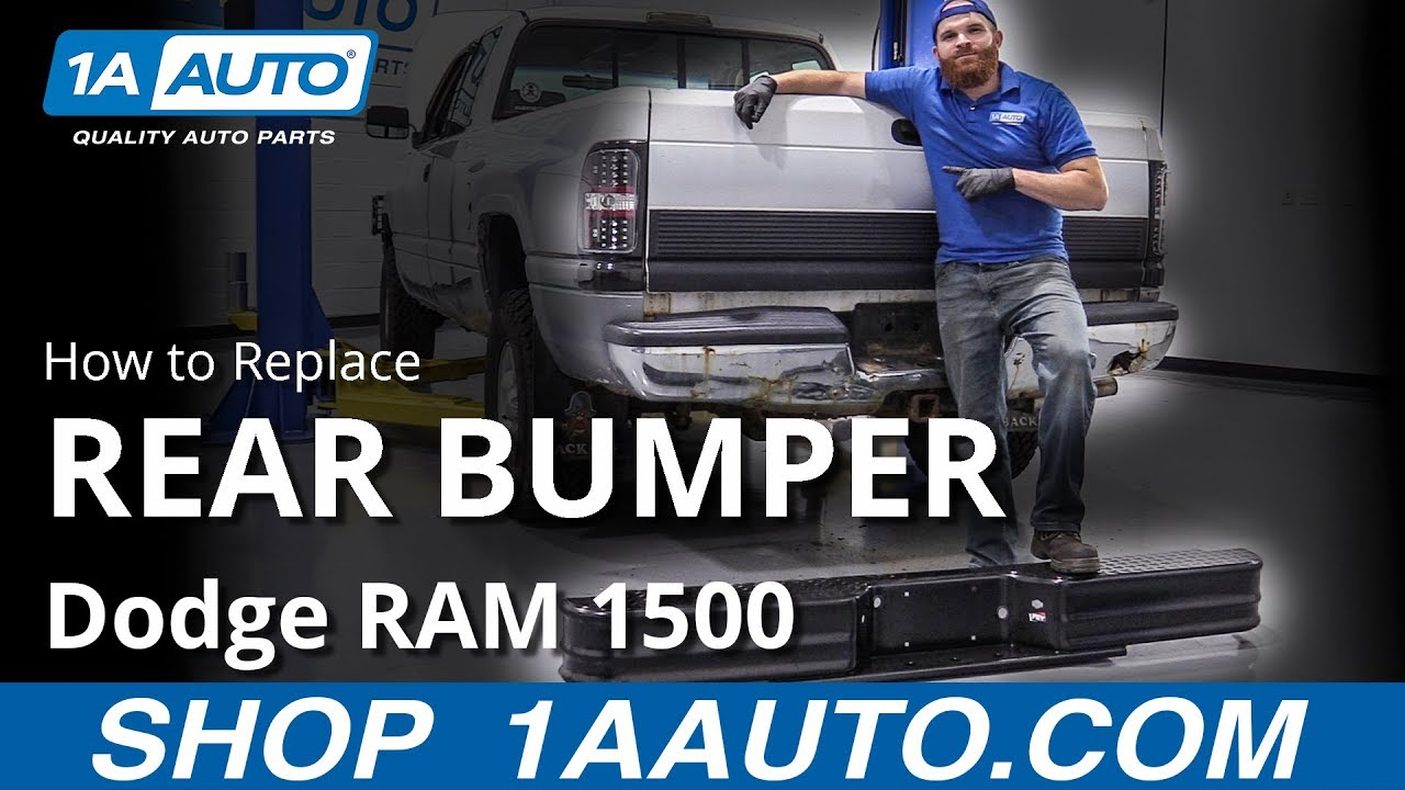 How to Replace Rear Bumper 94-02 Dodge RAM 1500