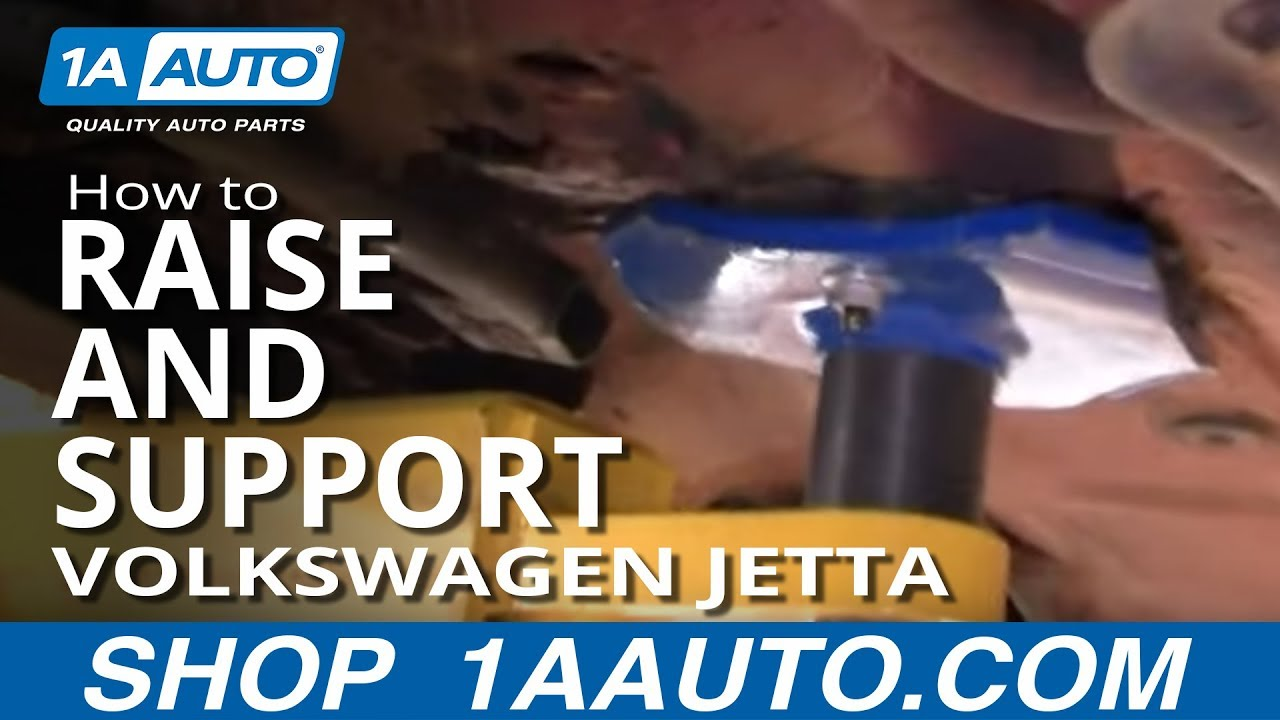 How to Raise and Support 93-98 Volkswagen Jetta