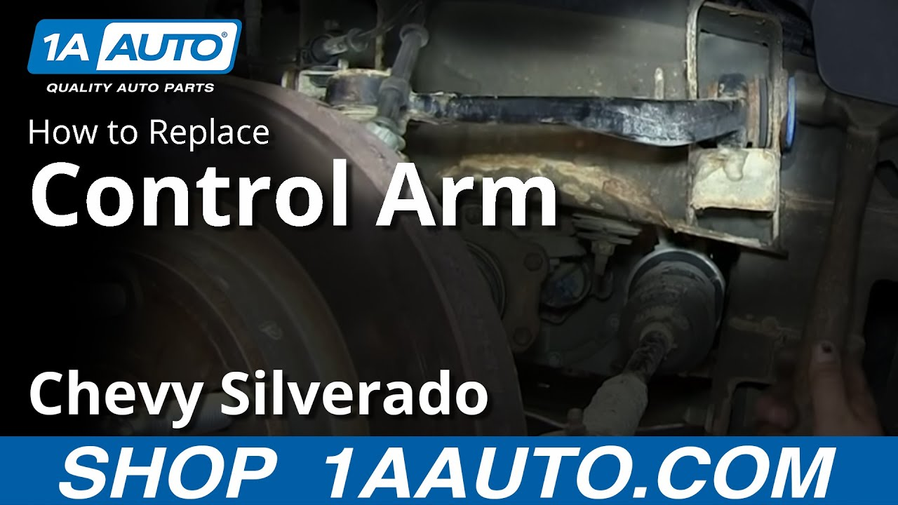 How to Replace Control Arms 07-15 Chevy Silverado