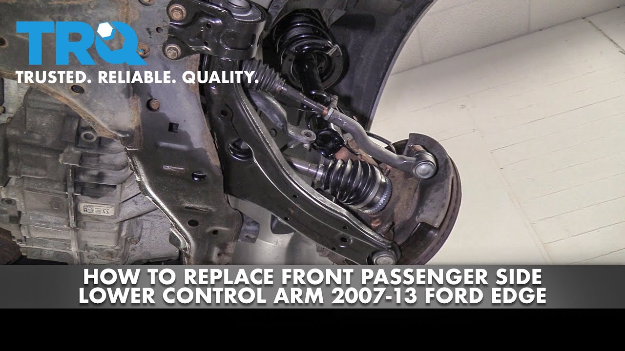 How to Replace Passenger Side Lower Control Arm 07-14 Ford Edge