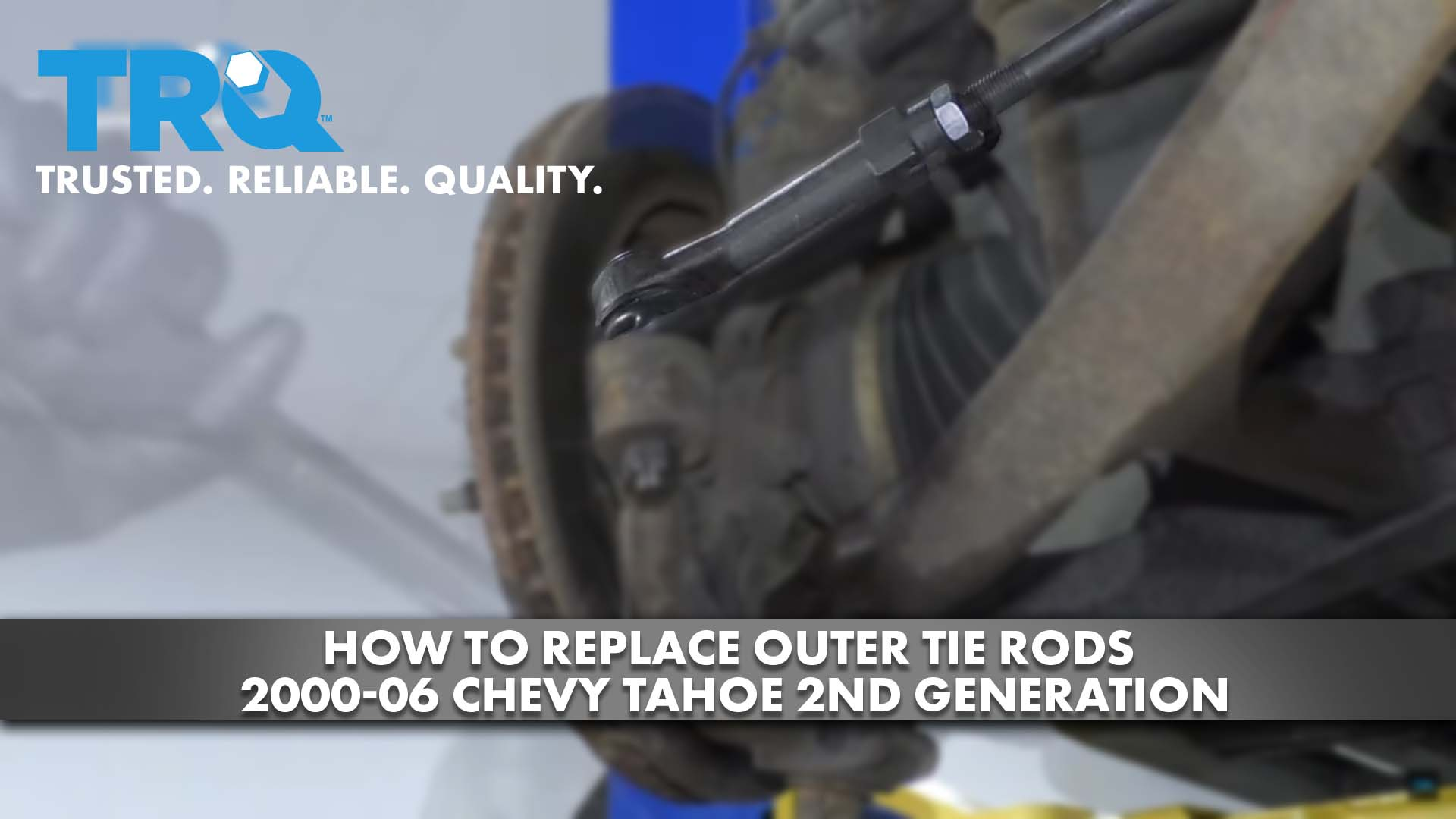 How to Replace Outer Tie Rods 2000-06 Chevy Tahoe 2nd Generation
