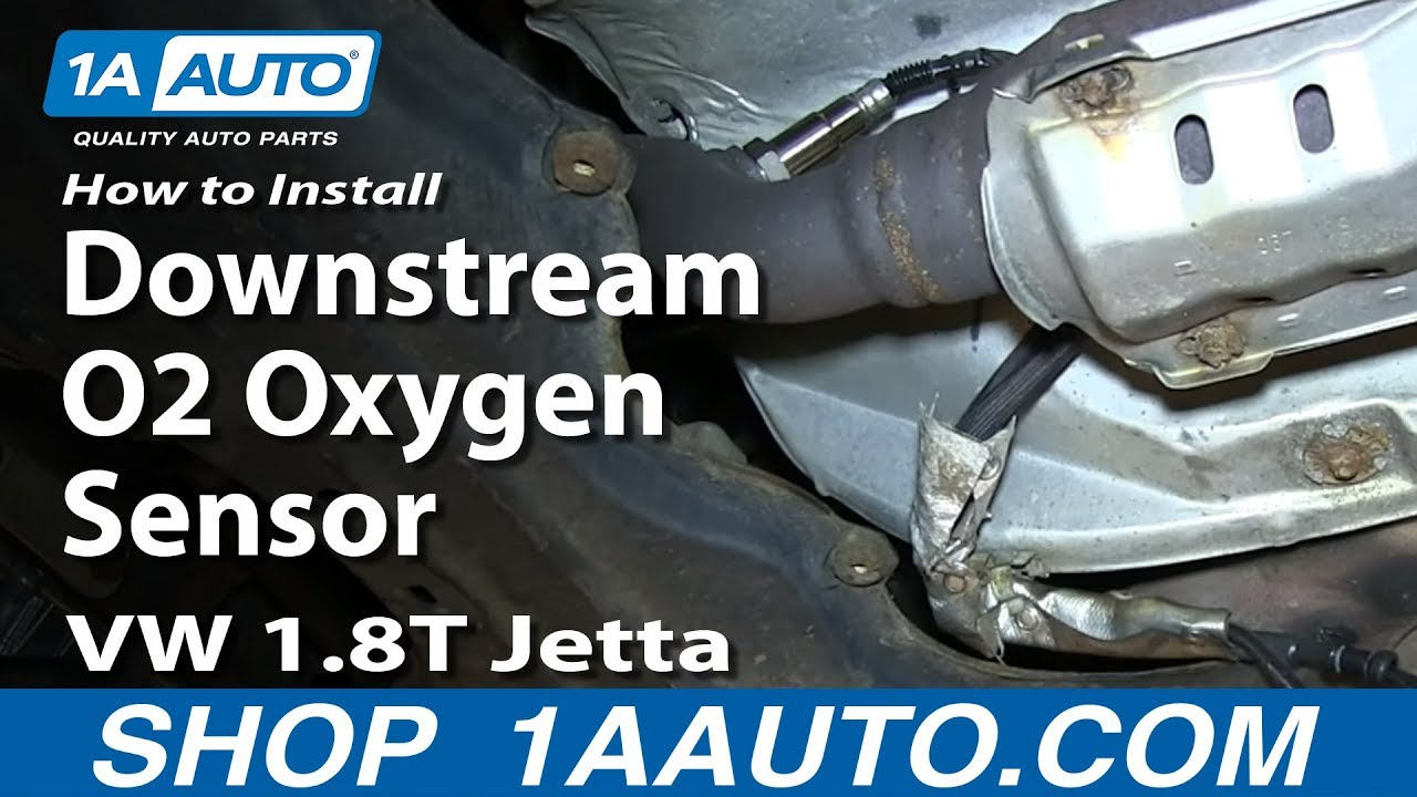 How to Replace Downstream O2 Oxygen Sensor Volkswagen 1 8T 99-05 Jetta