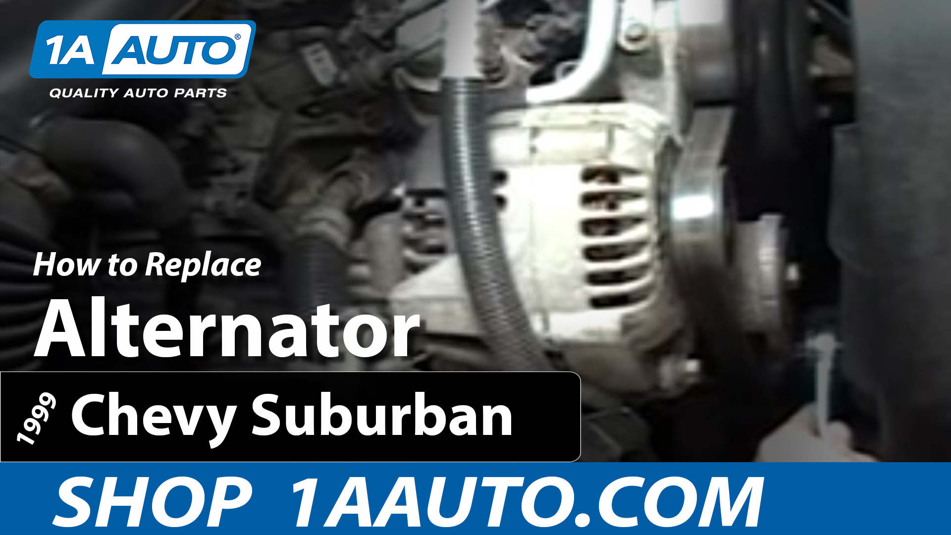 How To Replace Alternator 96-99 Chevy Suburban