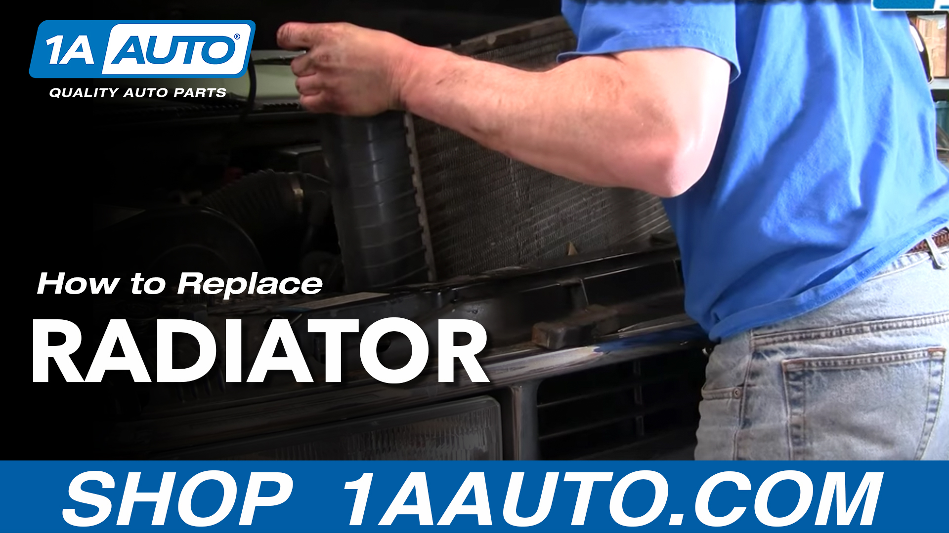 How To Replace Radiator 92-01 Chevy Suburban [PART 1]