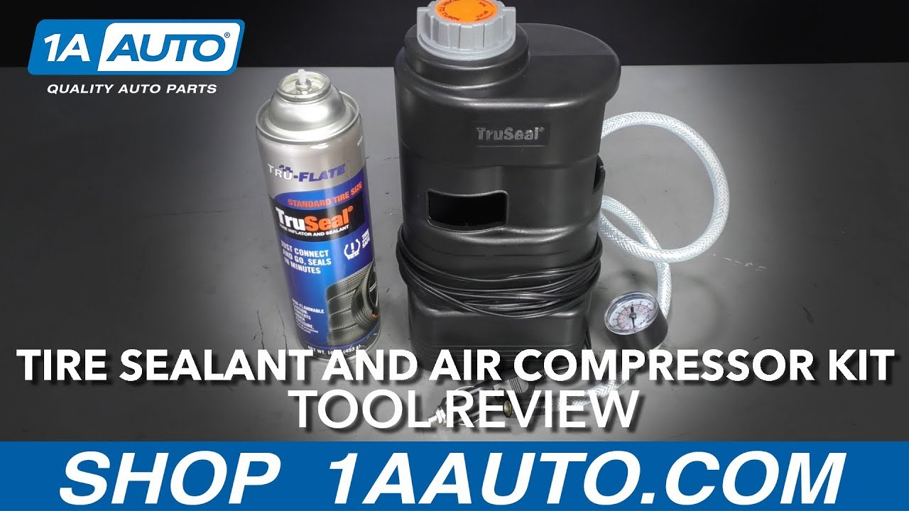 Tire Sealant and Air Compressor Kit - Available at 1aautocom