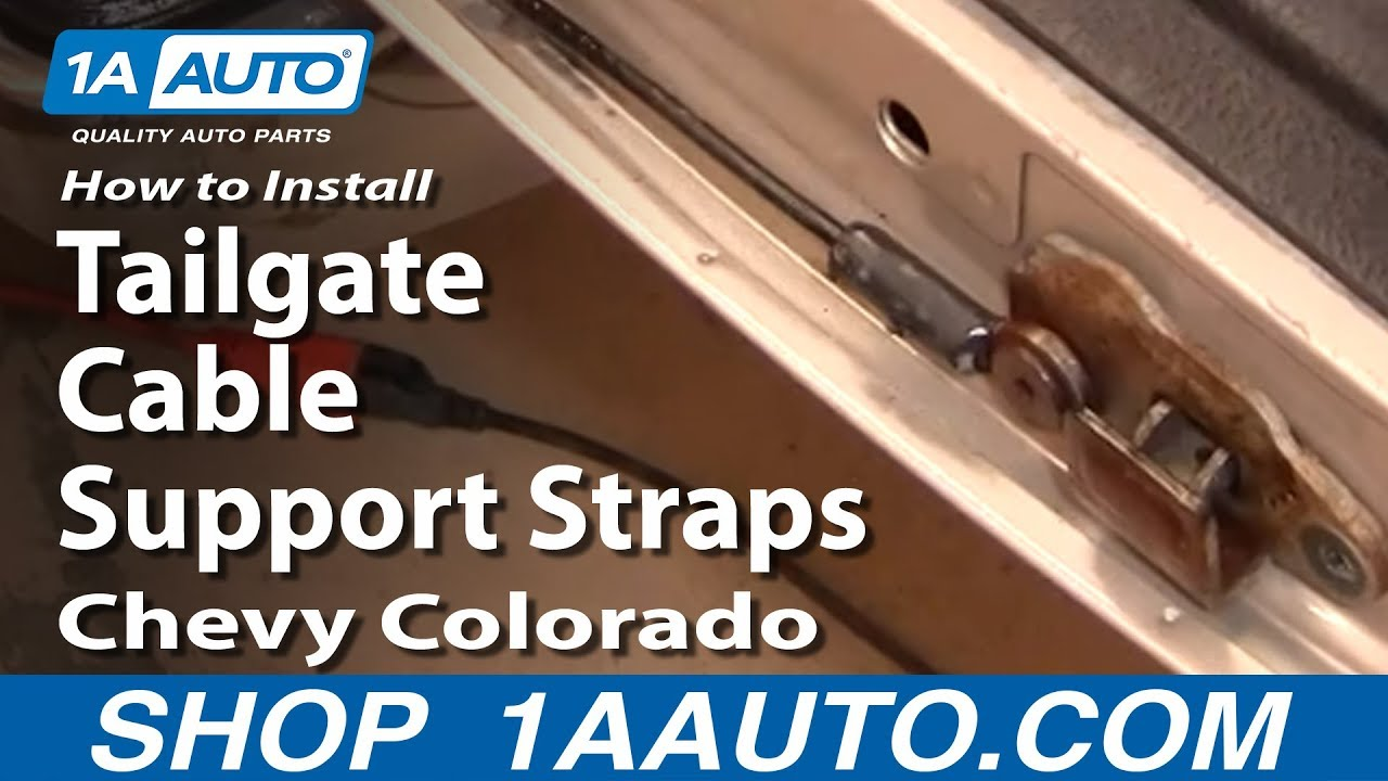 How to Replace Tailgate Cable 04-12 Chevy Colorado