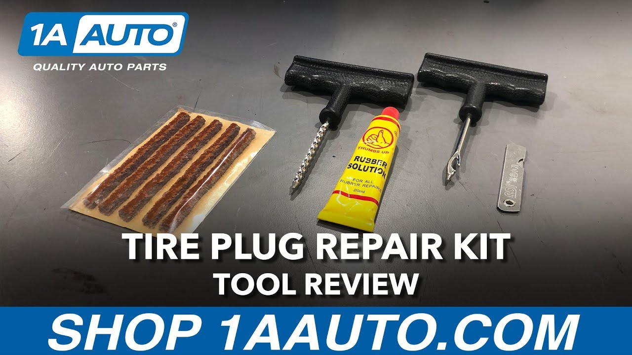 Tire Plug Repair Kit