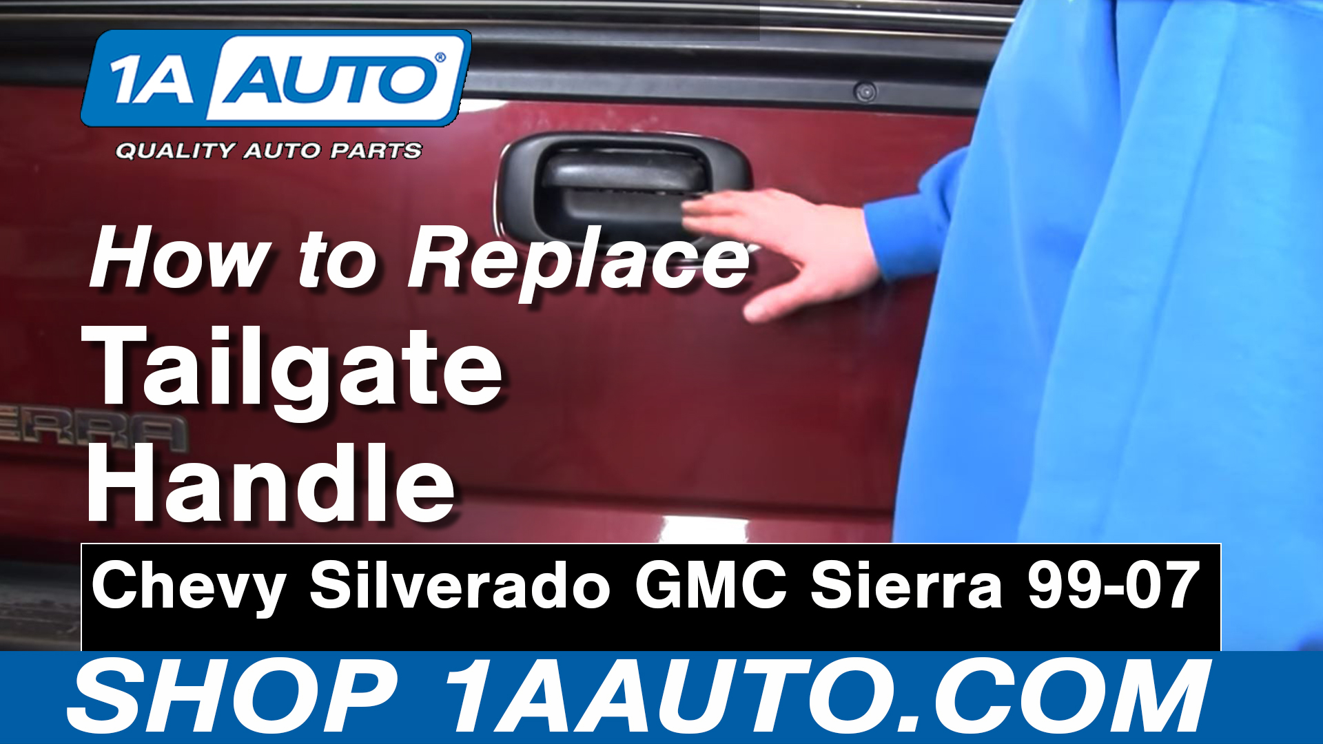 How to Replace Tailgate Handle & Bezel 99-06 GMC Sierra