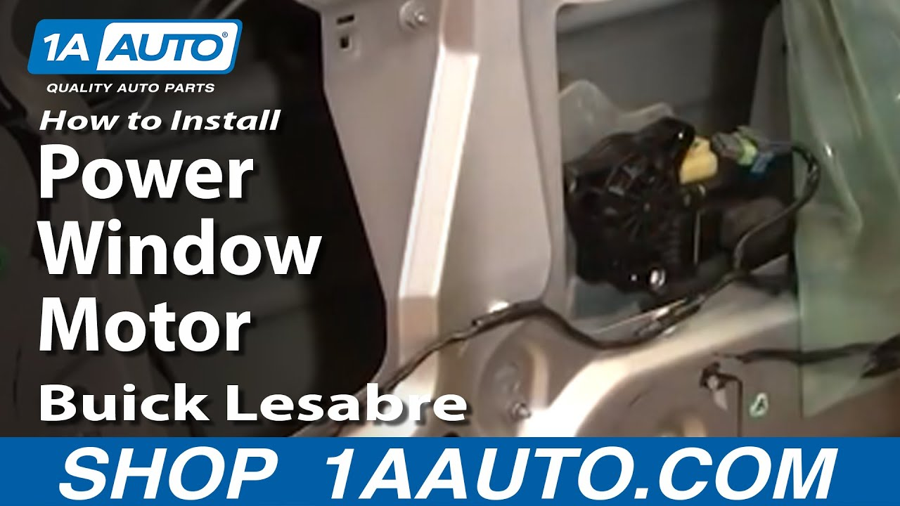 How to Replace Window Regulator 00-05 Buick LeSabre