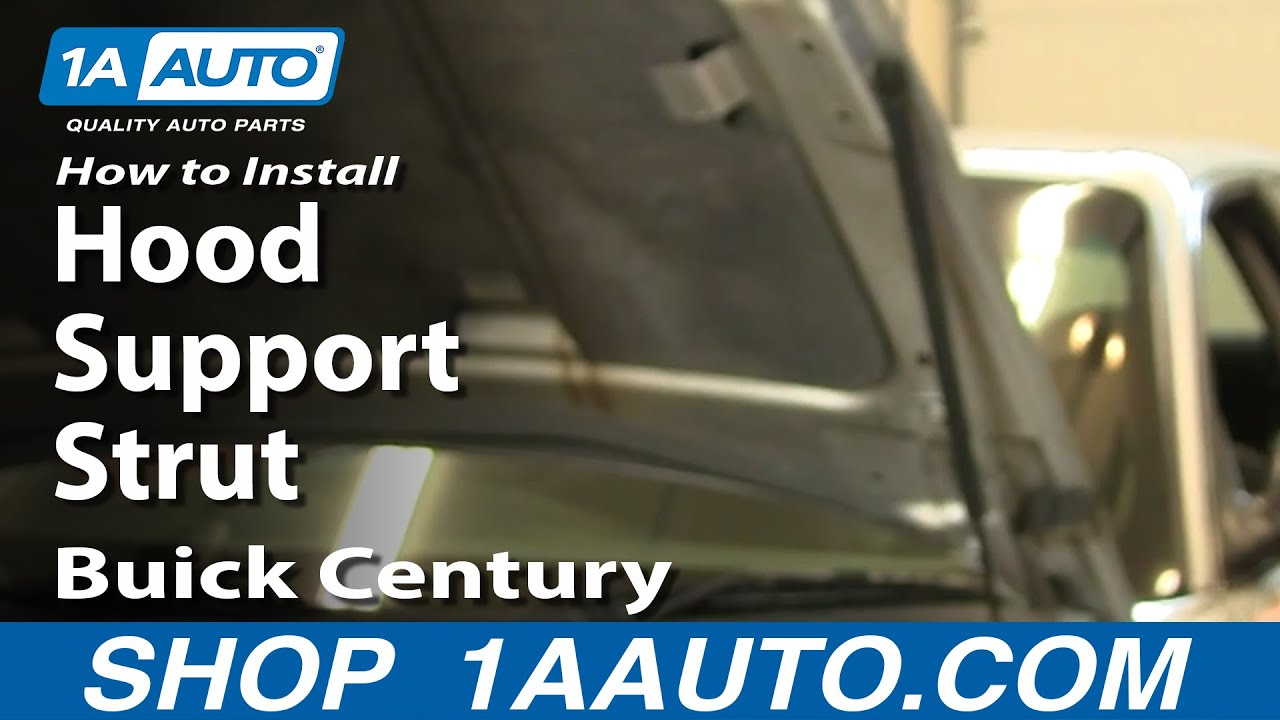 How to Replace Hood Lift Support 97-05 Buick Century