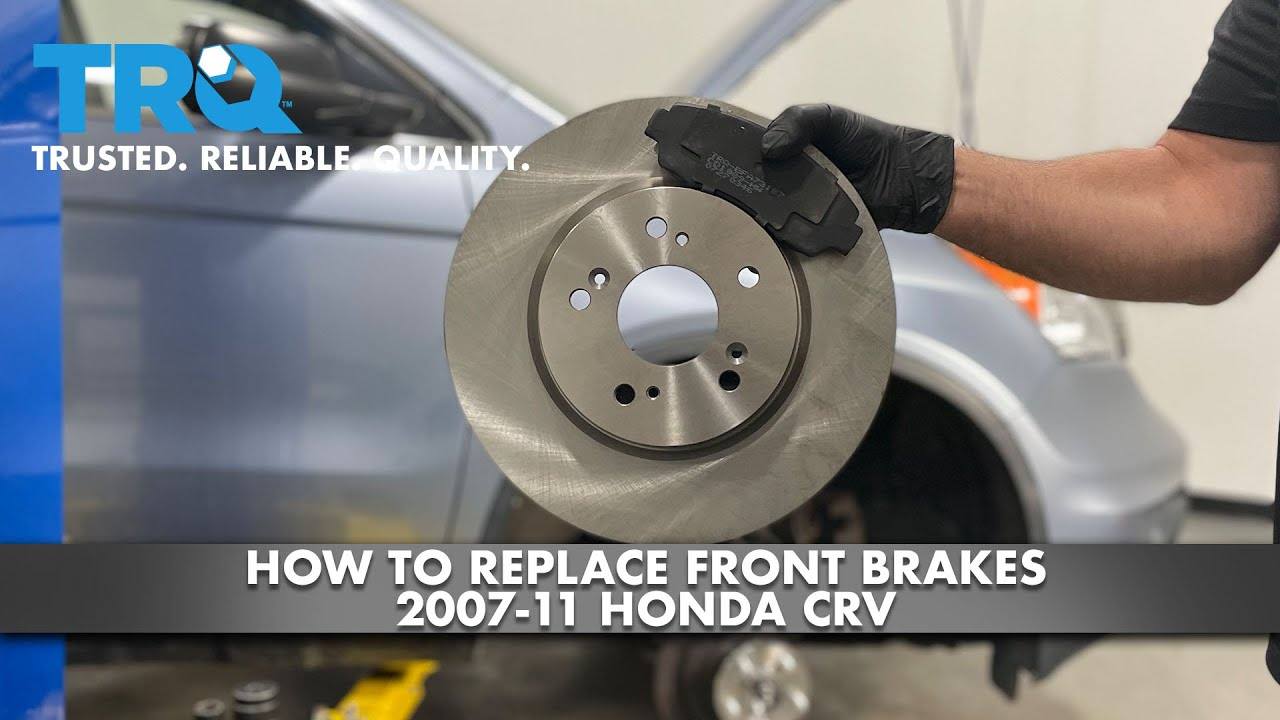 How To Replace Front Brakes 2007-11 Honda CRV