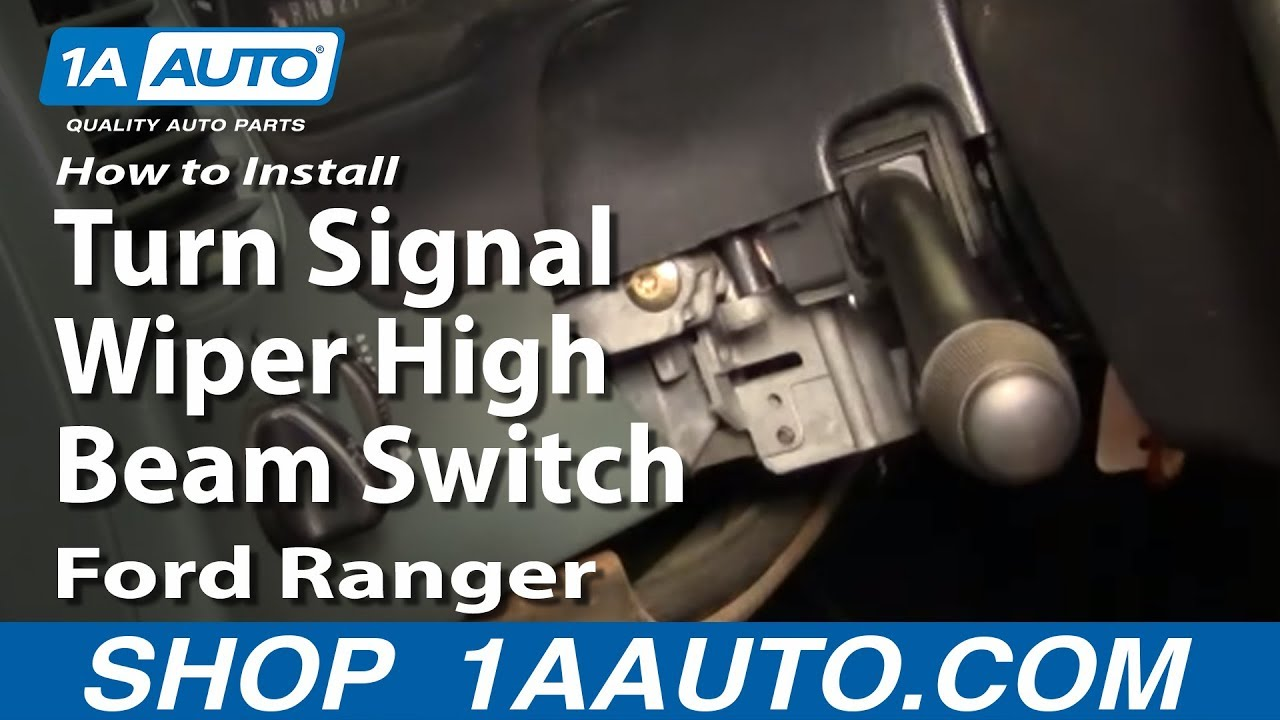 How to Replace Combination Switch 95-02 Ford Ranger | 1A Auto  Ford Ranger Ke Light Wiring Diagram on toyota truck light wiring diagram, peterbilt light wiring diagram, nissan titan light wiring diagram, dodge 3500 light wiring diagram, ford ranger light switch,