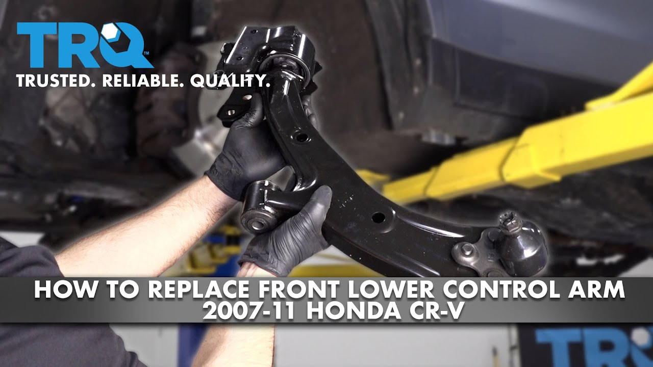 How To Replace Front Lower Control Arms 2007-11 Honda CR-V