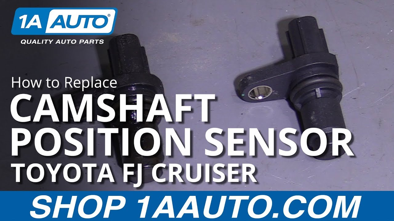 How to Replace Camshaft Position Sensor 07-13 Toyota FJ Cruiser