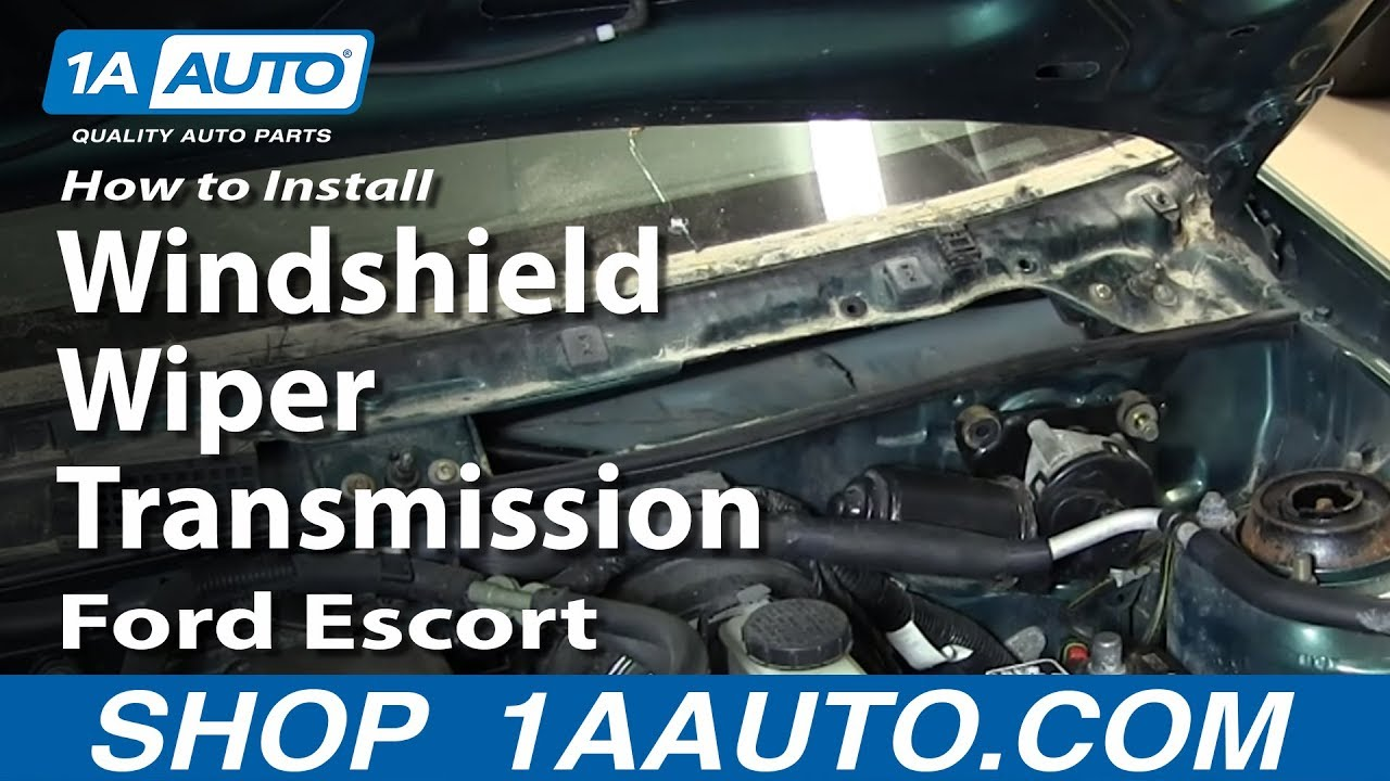 How to Replace Wiper Transmission 91-03 Ford Escort