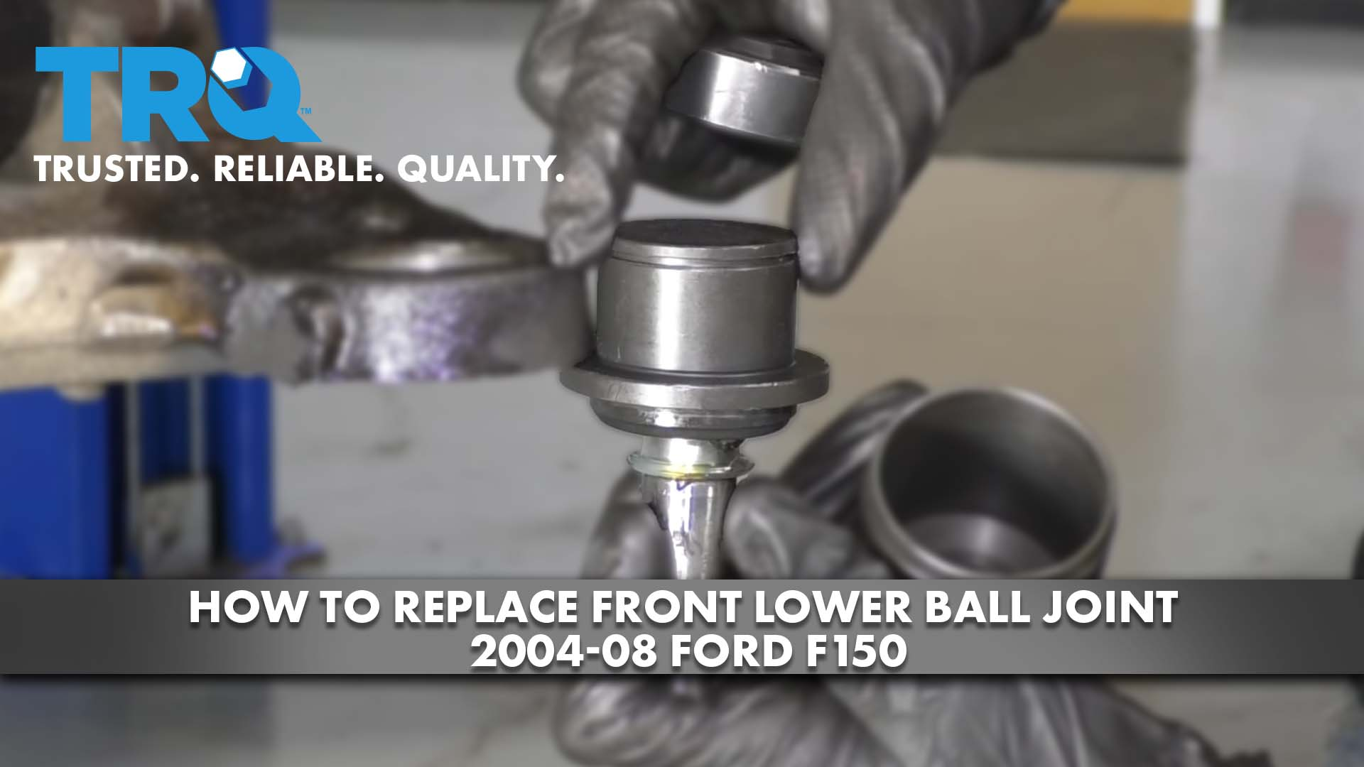 How to Replace Front Lower Ball Joint 2004-08 Ford F150