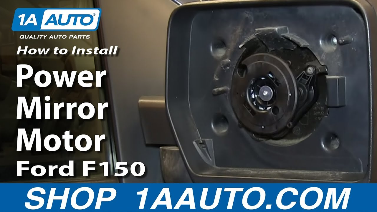 How To Replace Power Mirror Motor 04 13 Ford F150 1a Auto