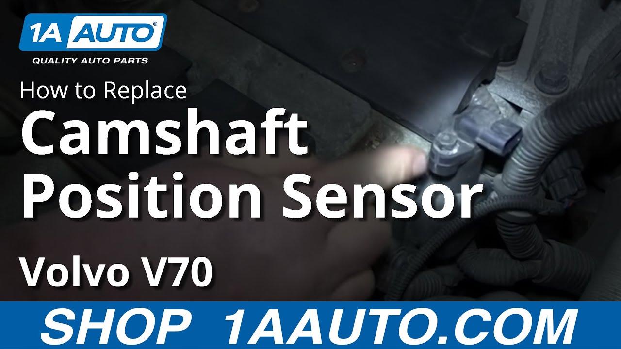 How To Replace Camshaft Position Sensor 00-07 Volvo V70