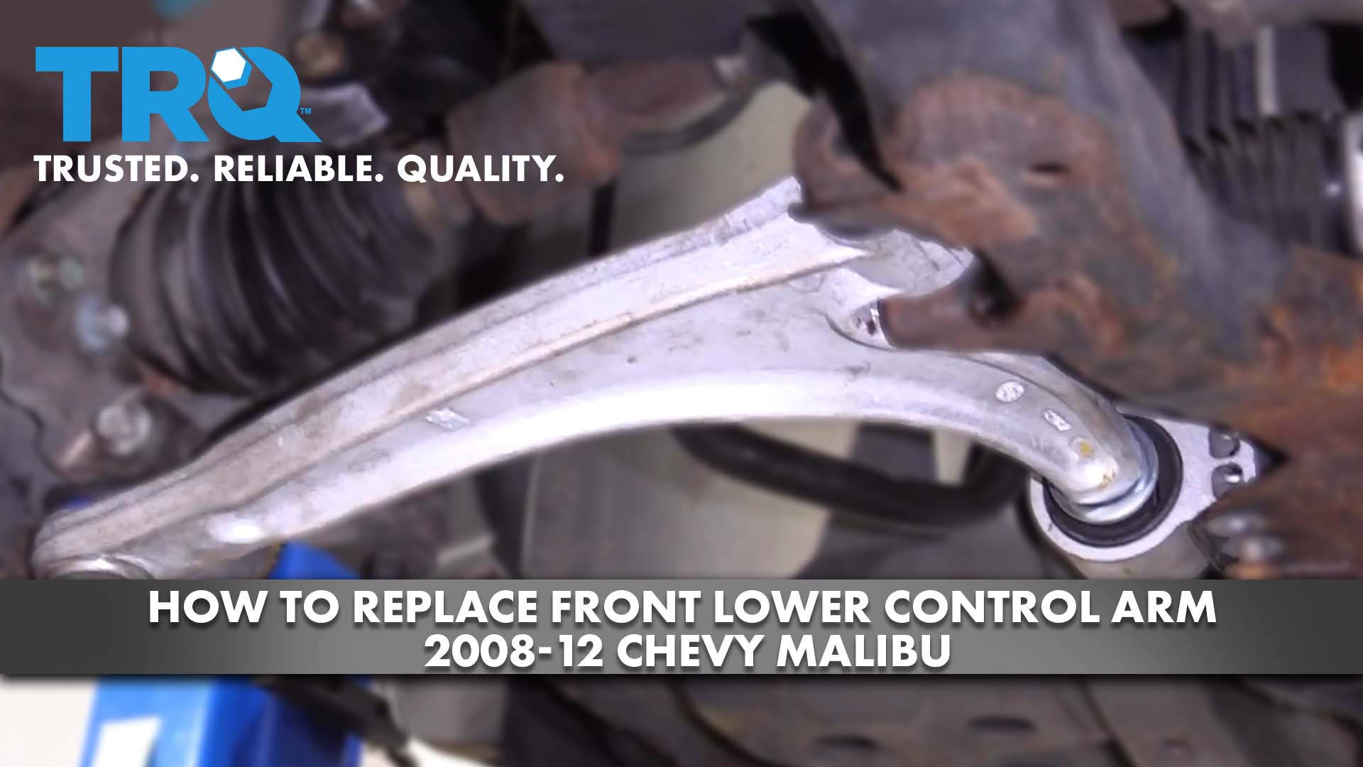 How to Replace Front Lower Control Arm 2008-12 Chevy Malibu