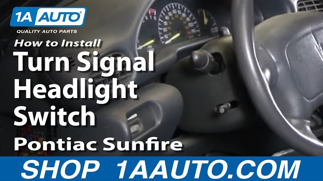 How to Replace Combination Switch 95-05 Pontiac Sunfire