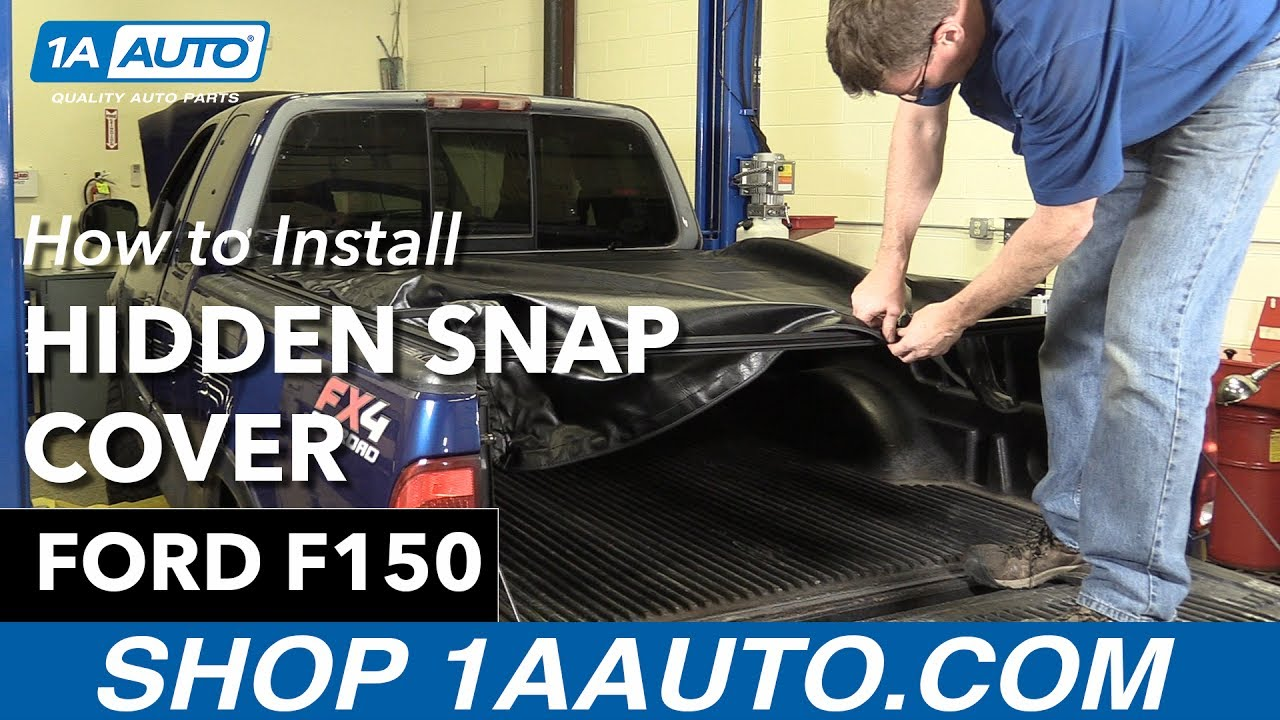 How to Replace Hidden Snap Tonneau Cover 97-04 Ford F-150