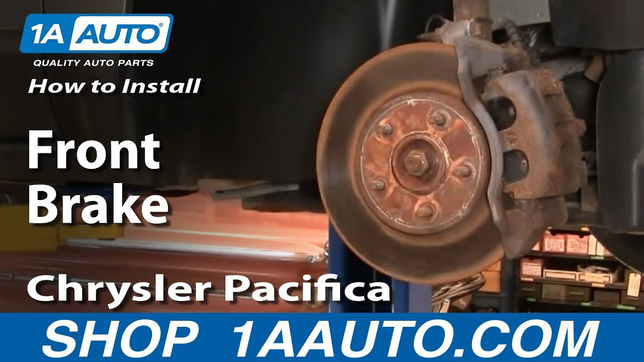 Front Brake Rotors /& Ceramic Pads For 2004 2005 2006 2007 2008 Chrysler Pacifica