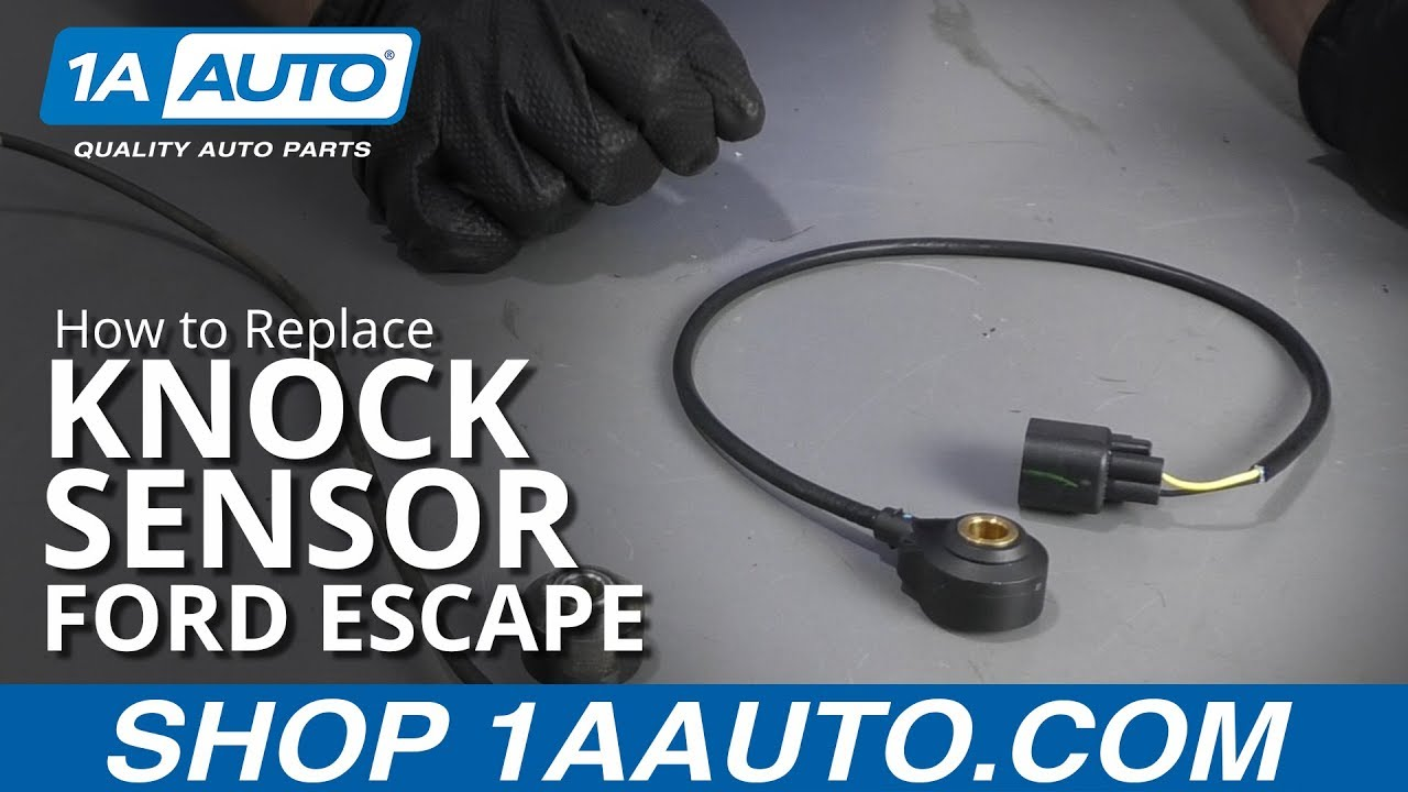 How to Replace Knock Sensor 09-12 Ford Escape