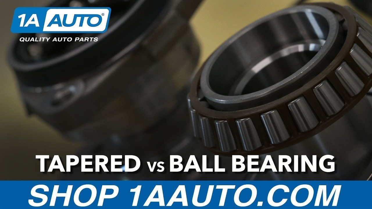 Differences Between Tapered Bearings and Ball Bearings