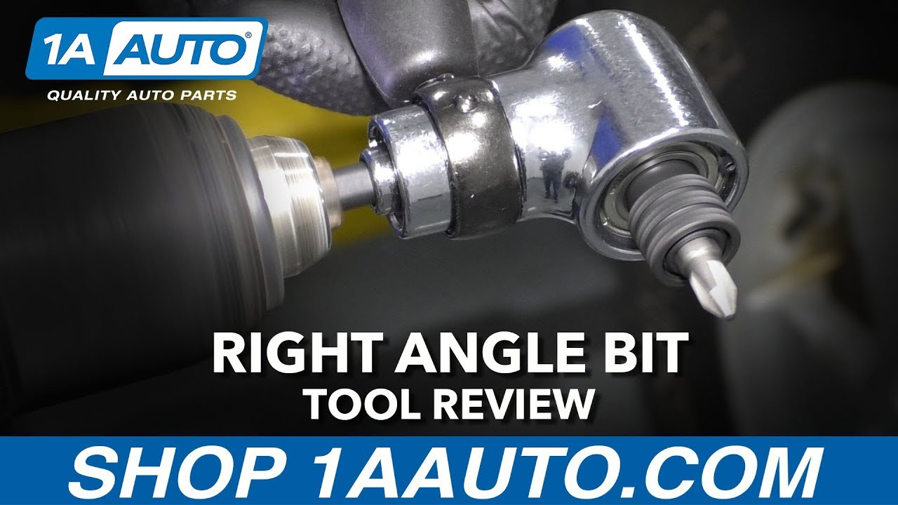 Right Angle Bit / Drill Adapter - Available at 1AAuto.com