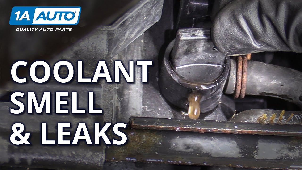 Diagnosing Coolant Smells and Leaks Coming From Your Car SUV or Truck