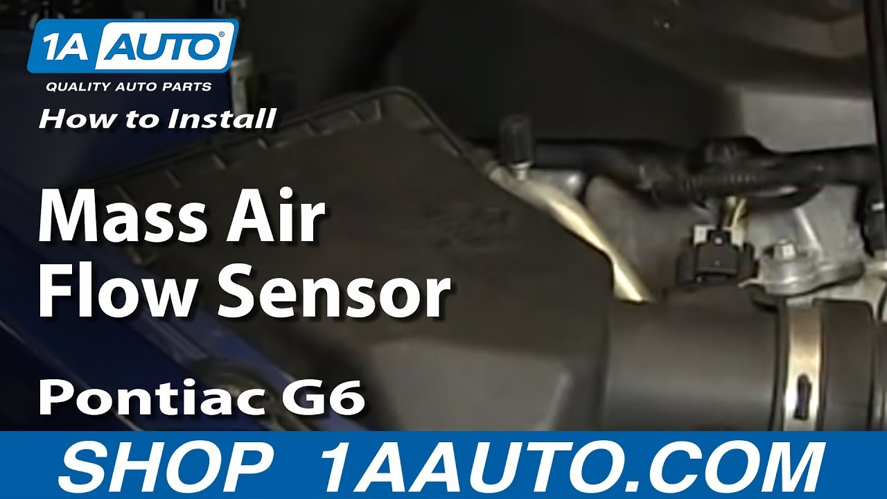How to Replace Air Flow Meter Sensor 05-10 Pontiac G6 2.4L 4 Cyl