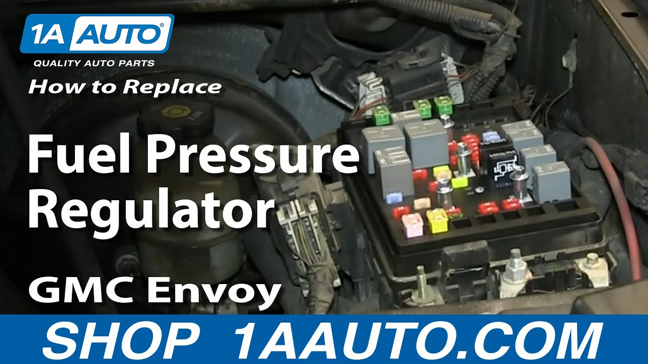 How To Replace Fuel Pressure Regulator 03 04 Gmc Envoy Xl