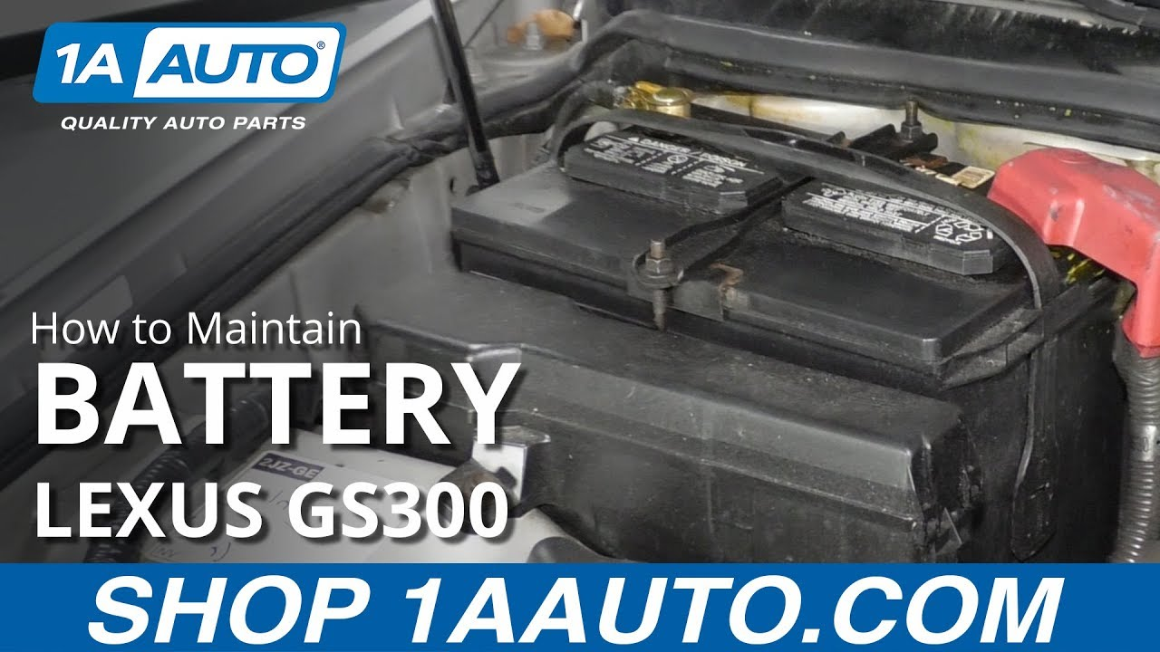 How to Maintain Battery 97-05 Lexus GS300